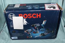 Bosch GXL18V-496B22 18V 4-Tool Combo Kit Drill Driver Wrench Saw Light Open Box