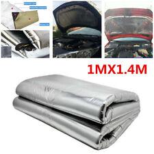 Car Turbo Exhaust Heat Shield Hood Insulation Fiberglass Cotton Mat Accessories