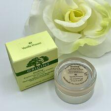 Origins Ginzing Brightening Cream Eyeshadow 01 VANILLA VROOM, New in Box
