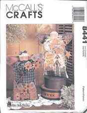 """8441 Vintage UNCUT McCalls SEWING Pattern 16"""" Angel Doll Plum Creek FF OOP NEW"""