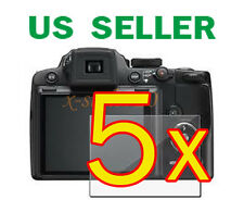5x Nikon Coolpix P500 Clear LCD Screen Protector Guard Cover Film