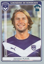 N°069 PLASIL # REP.CZECH GIRONDINS BORDEAUX VIGNETTE STICKER  PANINI FOOT 2012