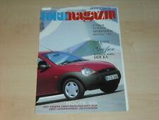 30578) Ford Ka Magazin Prospekt 1998