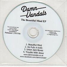 (EH748) Damn Vandals, The Beautiful Mind EP - 2011 DJ CD