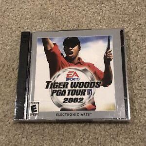 Tiger Woods PGA TOUR 2002 Golf PC CD-ROM Complete in Box CIB Windows XP 98 7 New