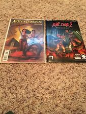 Army of Darkness (Dynamite) 1A 2012 And Evil Dead 2 First Issue Comic Books