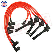 Spark Plug Wire Set For HONDA ACCORD CIVIC DEL SOL 92-00 EG EK EJ D15/D16 NEW