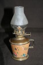 Mini lampe à pétrole ancienne