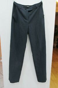 Womens Navy George Trousers Size 10 Leg 32 Good Condition
