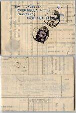 LUOGOTENENZA 1L(519) fattura commerciale 4.8.1945