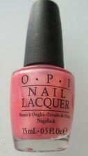 BRAND NEW OPI NAIL LACQUER / POLISH PRINCESSES RULE Glitter Pink 15 ml