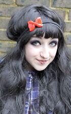 Red Riding Hood Plastic Bow Hair Head Band Kawaii Pretty Girls