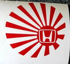 Honda Rising Sun Decal 100mm x 100mm