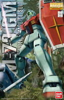 GUNDAM Robot MG 1/100 MOBILE SUIT RGM-79 GM BANDAI MASTER GRADE MG Model Kit