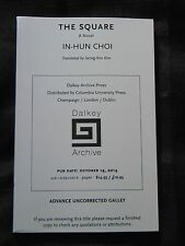 The Square by In-hun Choi Paperback _ARC