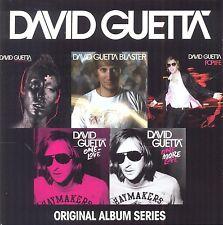 DAVID GUETTA - ORIGINAL ALBUM SERIES 5 CD NEUF