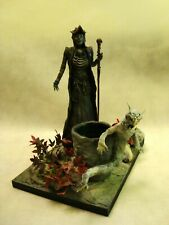 Dark Fantasy Sculptures-Oracle-witch statue horror 1/4 scale