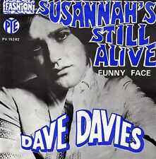 """DAVE DAVIES SUSANNAH'S STILL ALIVE / FUNNY FACE FRENCH 45 PS 7"""""""