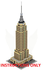 Baukästen & Konstruktion CUSTOM LEGO BUILDING CN TOWER.Toronto LEGO Bau- & Konstruktionsspielzeug CANADA.Ontario INSTRUCTIONS ONLY NO PARTS