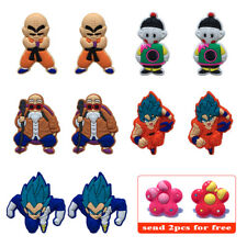 10PCS/Lot DRAGON BALL Shoe Charms Accessories Christmas Gifts For Kids