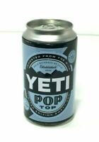 YETI POP TOP STORAGE CAN EMPTY SAFE KEEPING LIMITED EDITION COLLECTIBLE TIN BANK