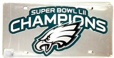 Philadelphia Eagles Super Bowl Champions SD Logo Premium Laser Tag License Plate