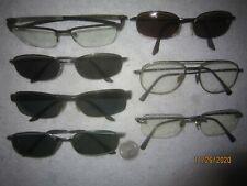 Mixed Lot Of 7 Oakley-Ray-Ban Metal Eyeglasses TINCUP 0.5 TITANIUM 53 O 18 SLEEK