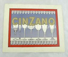 AUTOGRAFO ALBERTO MARONE CINZANO PUBBLICITà CINZANO 1965