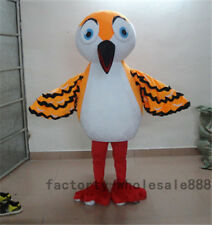 Halloween big Bird Mascot Costume suits Fancy Dress Adult Size Free Shipping