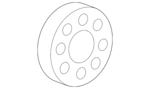 Genuine Mercedes-Benz Bearing 112-980-01-15