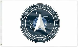 3x5FT FLAG United States Department of Space Force Banner Military US Celestial