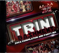 Trini Bashment Soca Compilation  & Party Mix BRAND  NEW SEALED  CD