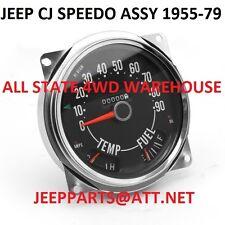 JEEP CJ DASH SPEEDOMETER ASSY 2 VERSIONS AVAIL 1955-1986 CJ5 CJ6 CJ7 CJ8