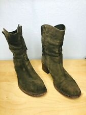 Alberto Fermani Womens Casual Ankle Boots Brown Suede Size EUR 38