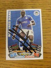 """2011/2012 AUTOGRAFO: Wigan Athletic-diame, Mohamed [firmato a mano """"TOPPS corrispondono a un"""