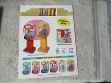 with stand  odd size 11- 8 3/8'' neo mini crane snk  ARCADE GAME FLYER