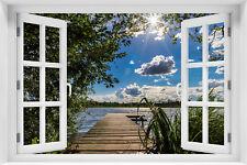 Fototapeten fenster g nstig kaufen ebay for Fenster 60x90