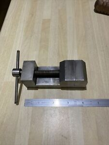 """TOOLMAKERS MODEL MAKERS PRECISION MACHINE VICE INSPECTION 1"""" 1/2"""" Jaws"""
