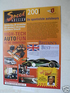 2001 FLYER SPEED & DESIGN MICHAEL PILARCZYK JAARBEURS UTRECHT