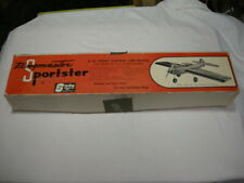 VINTAGE STERLING RINGMASTER SPORTSTER CONTROL LINE BALSA AIRPLANE KIT VERY RARE