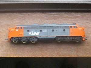 "Lima. Ref. No. 8206 ""VLine"" Class B80 Diesel Locomotive. HO Scale. No Box."