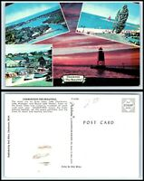 MICHIGAN Postcard - Charlevoix, Multiview O28