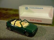 1/87 wiking vw golf III cabriolet vert foncé