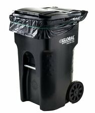 95 Gallon Trash Bags 25 Pack for Big Cans Garbage Home Garden Park Lawn Yard