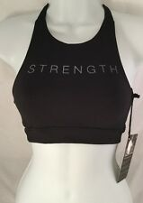 """Good Hyouman """"Strength"""" Sports Bra Workout Shirt Top NWT Sizes S or M"""