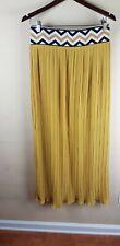 Rare Wonderful Lucy & Laurel Vintage Accordion Pleated Long Skirt / L