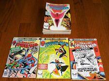 Lot of 21 The Amazing Spider-Man Annuals #13-26 +, Marvel Comics, 1979-1999