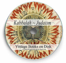 Rare Books Judaism Kabbalah on DVD Jewish History Mysticism Talmud Midrash 293