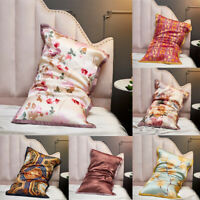 100% Natural Silk Pillowcase Hair Beauty Printed Pillow Towel for Healthy Sleep