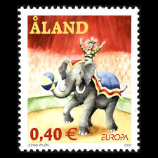 "Aland 2002 - EUROPA Stamps ""The Circus"" - Sc 204 MNH"